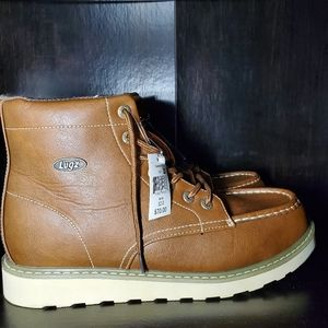 Lugz Brown Slip Resistant Boot Size 12 NWT